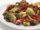 sriracha brussels sprouts side
